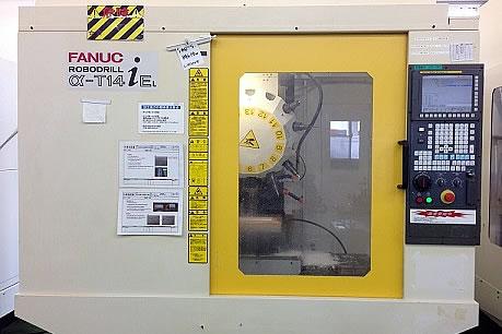 ベトナム工場では、日本製加工機械FANUC ROBODRILL